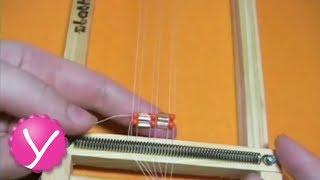Плетение бисером - плетение на станке(Бисероплетение - плетение на станке http://womanuroki.ru/biser2 - кликните и получите доступ остальным видеоурокам..., 2013-06-02T19:42:20.000Z)