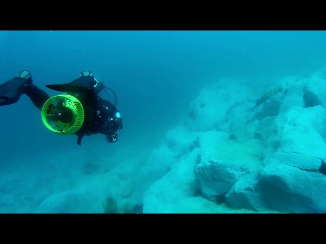 OzDive in Australia - Trying out a Diver Propulsion Vehicle (2015)