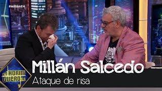 Una anécdota de Millán Salcedo provoca un ataque de risa a Pablo Motos - El Hormiguero 3.0