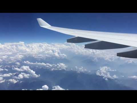 Lufthansa Airbus A330, Flight From Frankfurt to Abuja Airport.