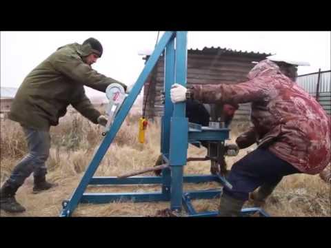 обучение бурению Буровая установка  на воду гибрид эектрики и гидравлики