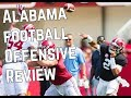 Alabama Football Highlights   Offensive Review