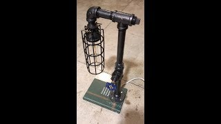 DIY how to wire a pipe lamp