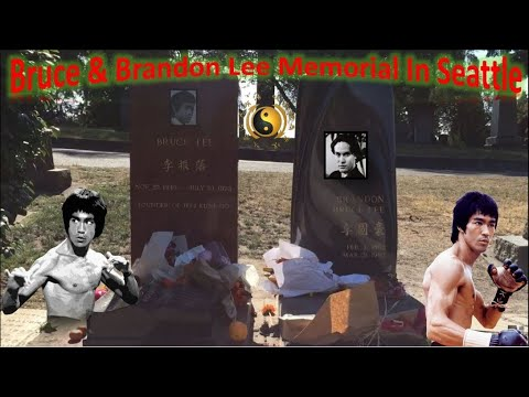 Bruce Lee & Brandon Lee Memorial In Seattle