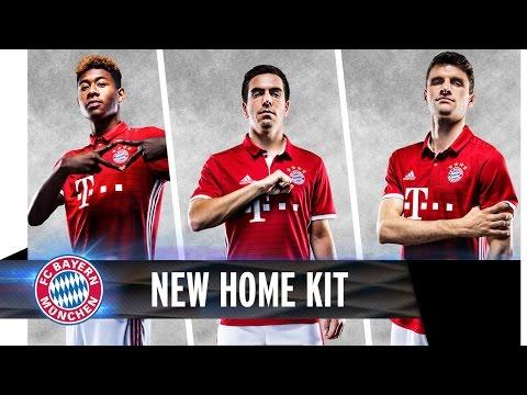 Das neue FC Bayern Home-Trikot 2016/2017