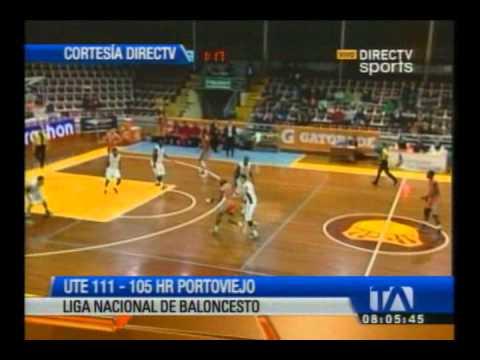 UTE derrotó a RH Portoviejo  en la Liga Nacional de Básquet