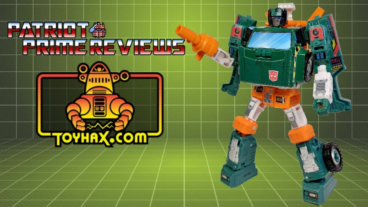 First Look! Toyhax Decal Set for Earthrise Hoist By Patriot Prime Reviews