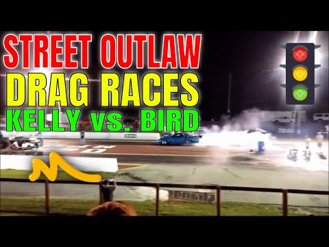Street Outlaws Kye Kelly & Jerry Bird Birdman Almost Hits Wall 08/25/2017 MPD With LiamOutLoud