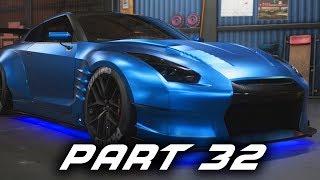 Need for Speed Payback Gameplay Walkthrough Part 32 - Nissan GT-R BenSopra & Free Roam Races