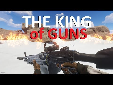Rust - We got the BEST GUN on the FUNNEST SERVER! (Squad Fresh Start, 4X M249 PvP) thumbnail