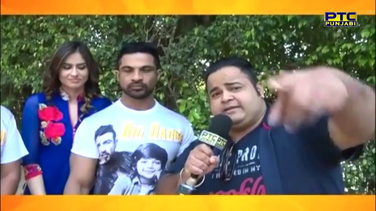 Big Daddy Punjabi Movie Cast Interview Chandigarh Ptc Entertainment Show Ptc Punjabi
