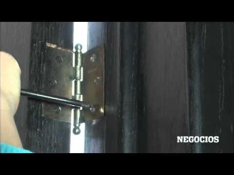 Repara tu puerta youtube for Como arreglar una puerta de madera
