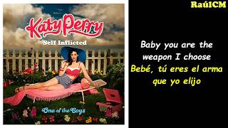 Katy Perry - Self Inflicted (Lyrics + Sub Español) [Official Audio]