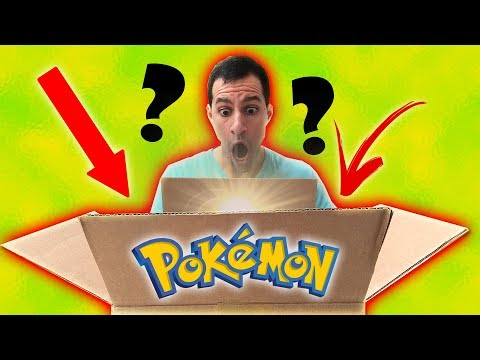 OPENING MYSTERY BOX WITH VERY RARE VINTAGE POKEMON CARDS!