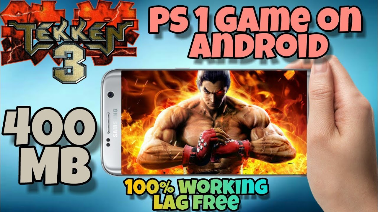 How to play Tekken 3 PS1 Game on Android | Highly Compressed | iso/rom | in  Hindi