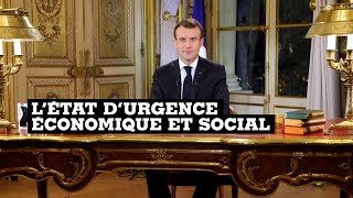France : Macron décrète