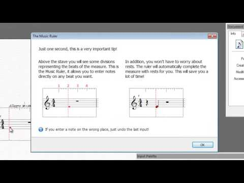 FORTE 6/5: Quick Introduction to Music Notation