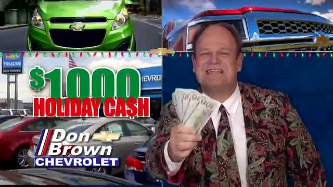 $1,000 Holiday Cash From Don Brown Chevrolet!