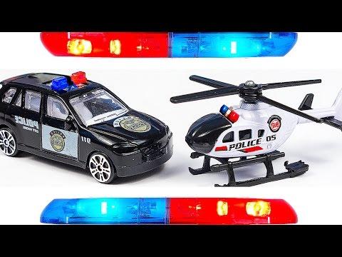 Мультфильм про пожарную машину полицейскую машину все серии подряд