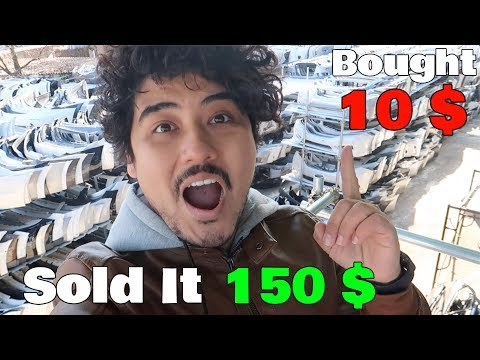 How To Make Money Selling Used Cars Spare Parts ( Korea To  Dubai ) ' PART 1 '