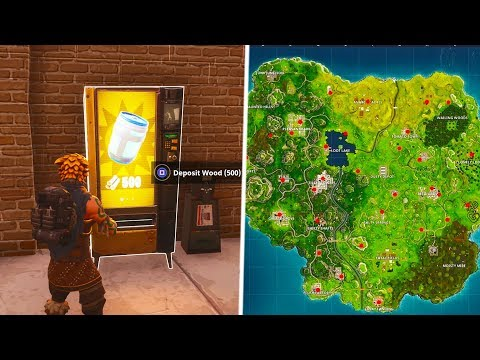How To Find 'VENDING MACHINES' In Fortnite! *ALL* Vending Machine Spawn Locations!