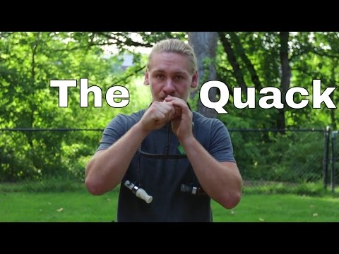 How to Blow a Duck Call: The Basic Quack for Beginners