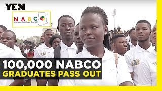 Ghana News Today: President Akufo-Addo Commissions NaBCo Graduates | Yen.com.gh