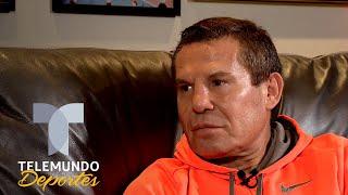 Julio Cesar Chávez revela cómo vivió la guerra verbal entre su hijo y Canelo | Telemundo Deportes