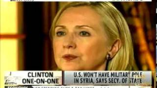 SECRETARY OF STATE HILLARY CLINTON TALKS ON SYRIA & HER PLANNED HISTORIC TRIP TO MYANMAR / BURMA