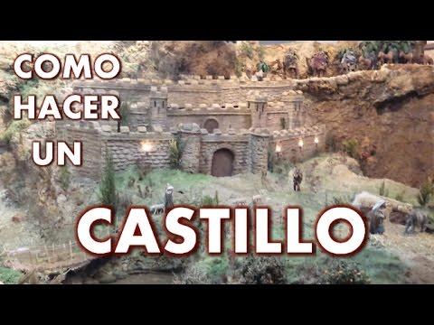 Castillo para el Belen  CASTLE FOR THE BETHLEHEM  YouTube