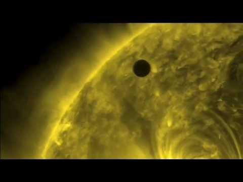 sound of hydrogen spectra + venus transit 2012 sun nasa ...
