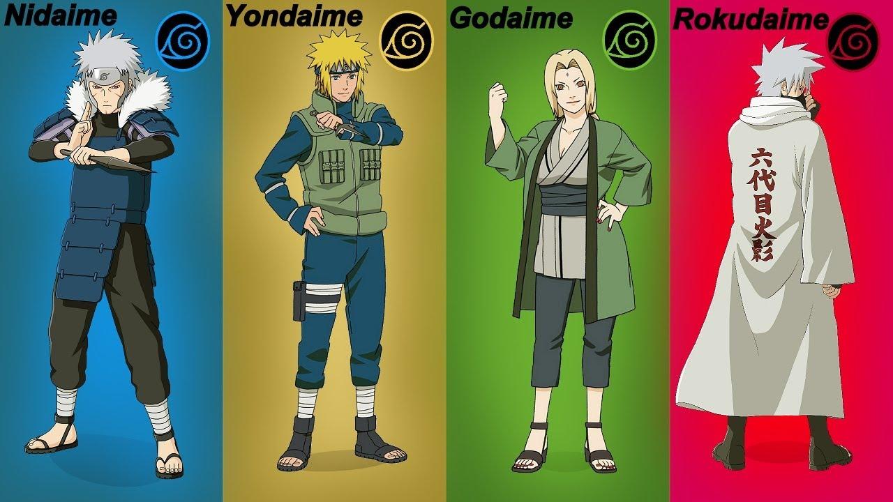 EL KAGE más PODEROSO de cada Generación Ninja | Naruto y Boruto