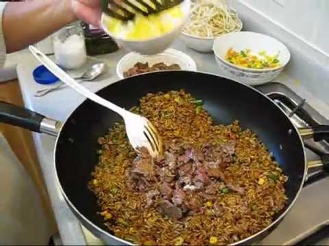 How to make beef fried rice authentic chinese style quick easy how to make beef fried rice authentic chinese style quick easy recipe ccuart Gallery