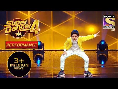 "Sanchit ने किया ""Ang Laga de"" पे Phenomenal Dance | Super Dancer 4 | सुपर डांसर 4"