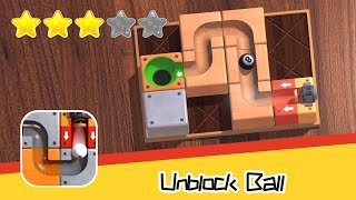 Unblock Ball Walkthrough wooden jigsaw puzzle game Recommend index three stars