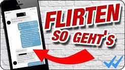 SO FLIRTET MAN RICHTIG UND BAUT ANZIEHUNG AUF 😎🔥 Chat Beispiel bis zur Nummer