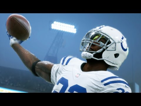 Rookie RB Chasing Records! Madden 18 Colts Connected Franchise Ep. 45