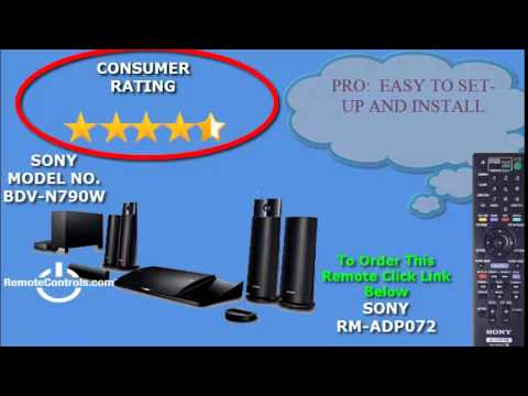 Sony HBD-N790W Home Theatre Windows 8 X64