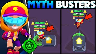 Can Max Teleport In Air! | Brawl Stars Mythbusters Ep 16