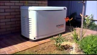 видео Газовые генераторы 5 кВт