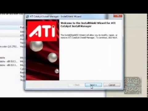 Instalar correctamente driver amd/ati
