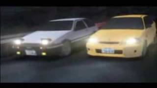 Initial D × Running in the 90'S