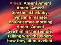 Amen with lyrics