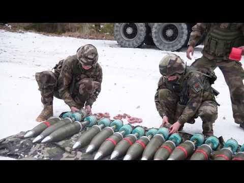 Миномет М327 и М120(стрельба 120мм снарядами)