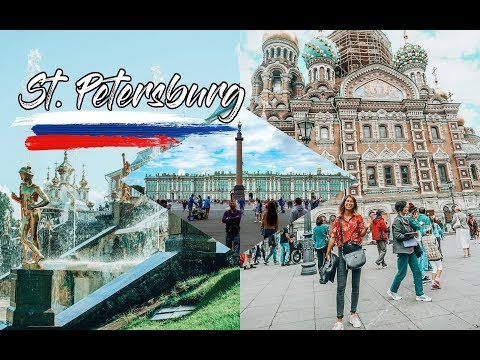 Summer in SAINT PETERSBURG, RUSSIA | travel diary✈️