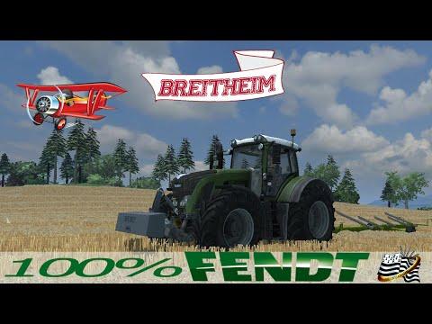 Farming Simulator 2013 / EP1  / Map Breitheim / 100% Fendt