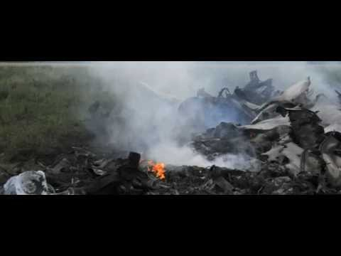 Plane crash - Boeing 777 crashed in Ukraine near Russian border