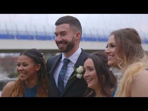 Beth & Josh's Wedding Video at The Lowry, Salford.