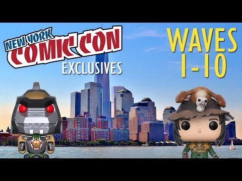 NYCC 2017 Funko Exclusives - Wave 1-10