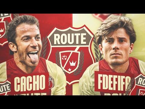 CACHO VS FDEFIFA!! | ROUTE LEGEND | JORNADA 3 | FIFA 17